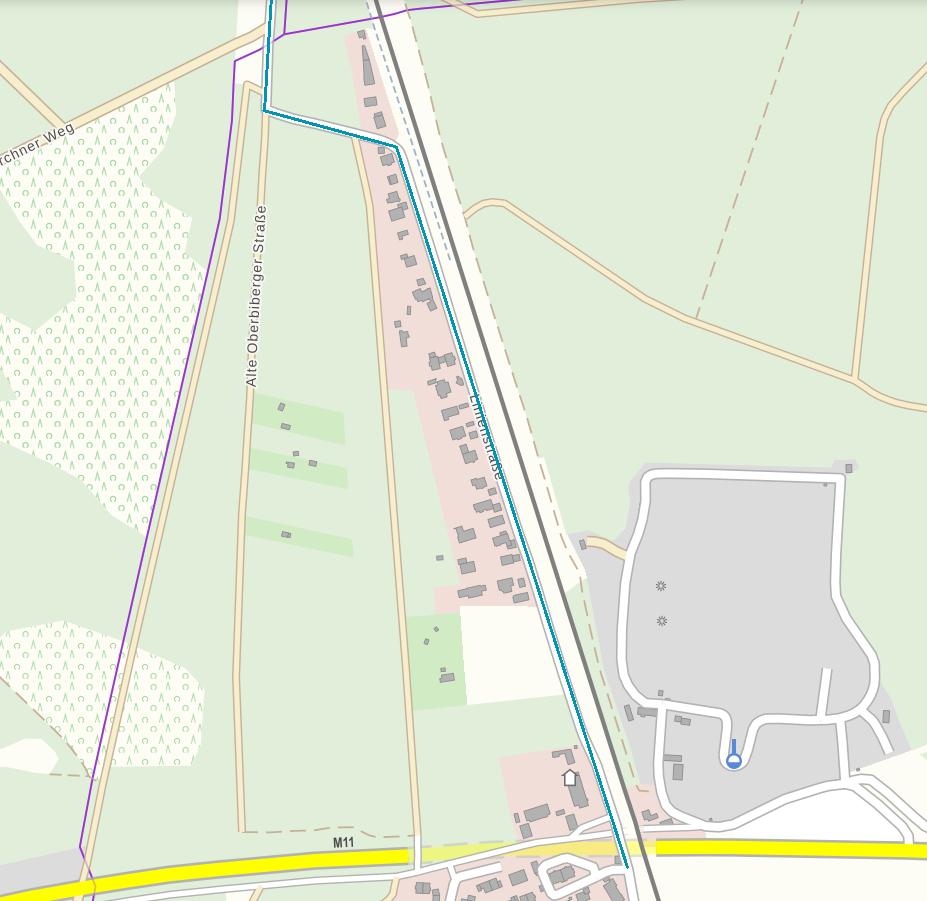 Glasfaser nördliche Linienstraße